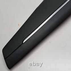 2014 2015 Audi R8 Center Console Black Leather Right Side Panel Trim Cover Oem