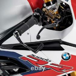 Alpha Racing CNC Aluminum Brake Lever Guard With Weighted Bar Ends S1000RR 2020