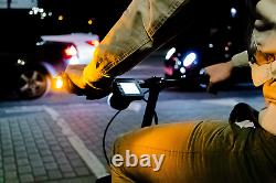 Bicycle Indicators Push Bike Bar End Lights Winglights LED Direction Indicator