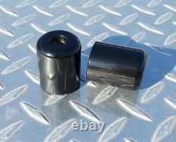Black Weighted Bar Ends R1 R6 MT09 CBR 600RR 1000RR 650F HAYABUSA SV1000 SV650