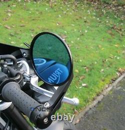 CNC Aluminium Round Bar End Mirrors Yamaha MT 07 MT 09 Genuine NCS MT-07 MT-09