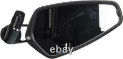 CRG AO-100 Arrow Bar End Mirror, Black 58-6186 0640-0523