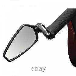CRG Arrow Bar End Mirror Black AO-100
