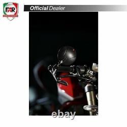 Coppia Specchietti Far 7793 E 7794 Black Star Omologati Moto Naked Bar End