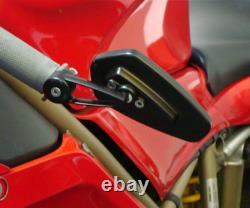 Crg New Arrow Billet Bar End Barend Mirror Kawasaki