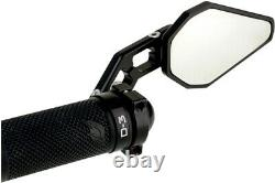 Driven D-Axis Bar End Mirror Black DXM-BK