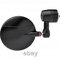 GENUINE SPY R 60 RIZOMA BAR END MIRROR 60mm DIA. BLACK MOTORCYCLE BILLET ALLOY