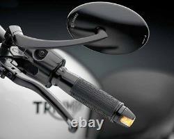 Genuine Rizoma Sguardo Motorcycle Bar End Indicator Black Billet Aluminium