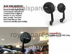 Genuine Royal Enfield GT 650 Continental Homologated Bar End Mirror