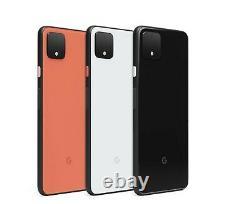 Google Pixel 4 / 4XL 64GB Black White Fully Unlocked Network A+++