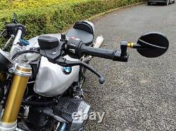 HJR Product CNC Spy behind Bar End mirrors BMW r ninet r nine t genuine pair R