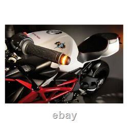 Kellermann BL2000 Handlebar Bar End Motorcycle Turn Signal Indicator Black