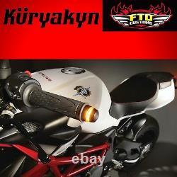 Kuryakyn Black Kellermann BL 2000 Bar End LED Turn Signals 2559
