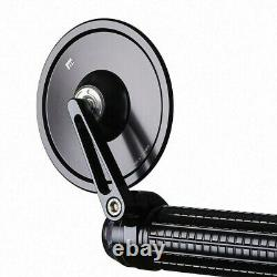 MOTOGADGET M. VIEW STRET 96mm ECE GLASSLESS MOTORCYCLE BAR END MIRROR CAFE BOBBER