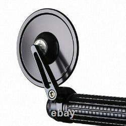 Motogadget Mo View Street Glassless Bar End Motorcycle Wing Mirror Black