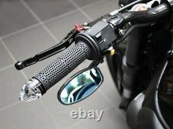 Motogadget m-Blaze Cone (Bar End Indicator) (Side & Colour Right, Black)