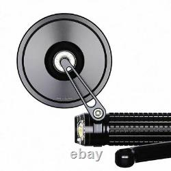 Motogadget mo. View Street Mirror, Black, 96mm Round, Bar End or Normal Fitment