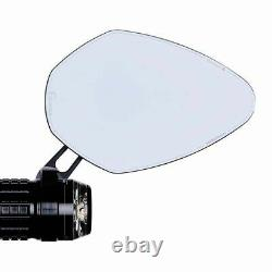 Motogadget mo. View pace Mirror, ECE, Black, Bar End or Normal Fitment, 7/8 & 1