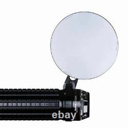 Motogadget mo. View spy Mirror, Black, 75mm Round, Bar End or Normal Fitment