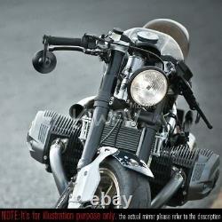 Motorcycle Bar End Mirrors Bob Black M12 Bolt for BMW R NineT Scrambler Racer
