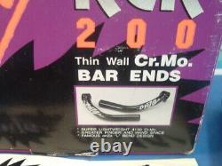 Onza RCR 200 Cr. Mo. L Bend Bicycle Bar Ends NEW / NOS Vintage- Mint- NIB