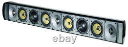 Paradigm Millenia Trio 20 3 Channel Audiophile High End Speaker Sound Bar Kef BW