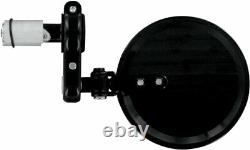 Powerstands Racing PSR Franco Folding Bar End Mirror (Black) 00-00200-22