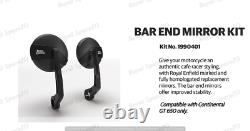 Royal Enfield Bar End Mirror Kit Homologated set For Continental GT 650 CC