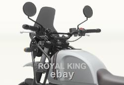 Royal Enfield Himalayan Braced Handlebar With Machined Bar end finisher kit
