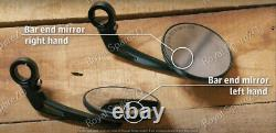 Royal Enfield Homologated Bar End Mirror Kit For Continental GT 650