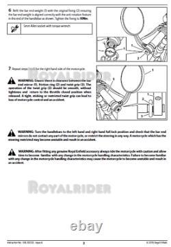 Royal Enfield METEOR 350 BAR END MIRROR, HOMOLOGATED
