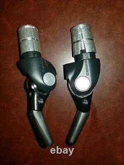 Shimano Dura-Ace SL-BSR1 Bar End 2/3 x 11 speed Shifters Right & Left Bar Cons