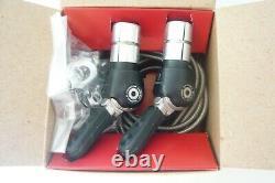 Shimano LD-500 Dura Ace Black Series bar-end shift levers set
