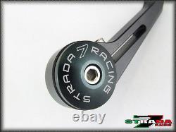 Strada 7 Racing CNC Aluminium Bar End Mirrors 1997 2013 Triumph SPEED TRIPLE