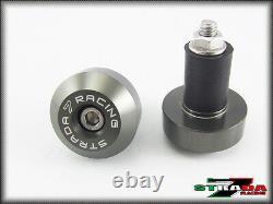 Strada 7 Racing Combo Carbon Inlay Levers/Bar Ends/CNC Grips-Yamaha YZF-R6/R1