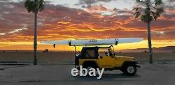 Surf Ski V Bar Roof Rack Top Carrier withQuick Release Ends Made in USA