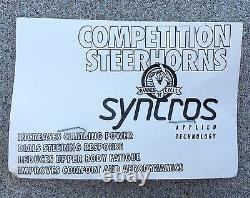 Syncros Vintage Mountain Bike MTB Bar Ends Black