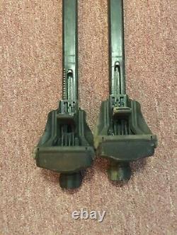 THULE Square BLACK 55 853-2341-08 Roof Rack Bars Locking Ends No Keys