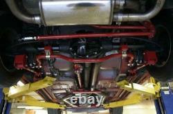 UMI Performance 82-02 Camaro F-Body Rear Drag Sway Bar for Stock Rear End Black